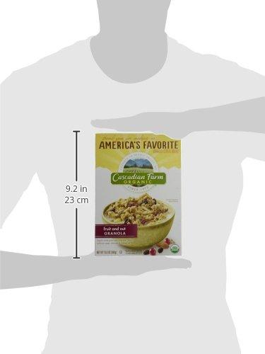 Cascadian Farm Organic Granola Cereal - Fruit & Nut - 13.5 OZ