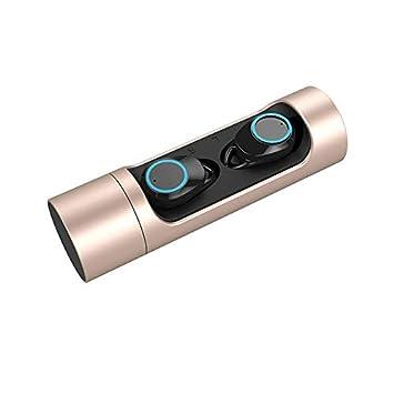 Touch Control True - Auriculares inalámbricos Bluetooth 5.0 (estéreo, IPX6, Impermeables) Dorado: Amazon.es: Electrónica