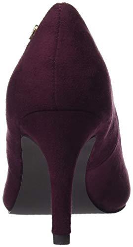 Bout Fermé burdeos Escarpins 30953 Violet Xti Femme Burdeos qEtTn1B