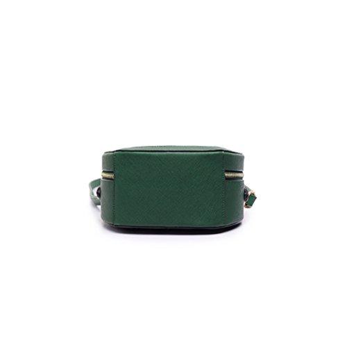 Honeymall Borse Donna, borse a mano donna Foresta Ragazze Moda Elegante Verde
