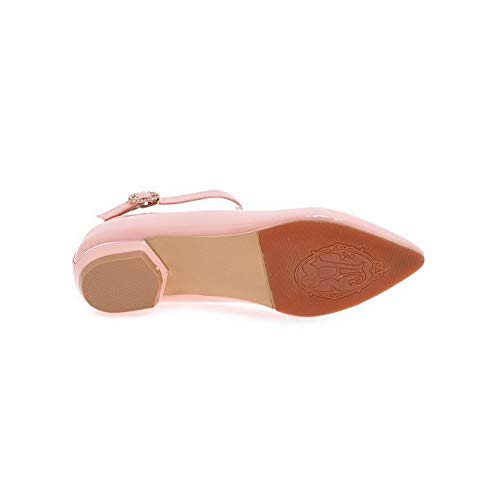 SDC05816 AdeeSu Rose Femme Compensées Sandales RFrOAqF