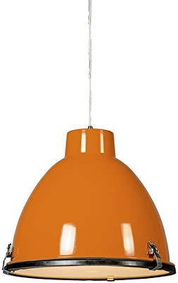 Orange Glass Lampshade in Ceiling Lights & Chandeliers for