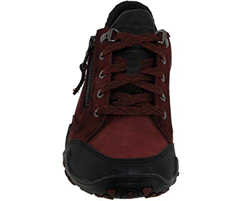 Zapatillas Allrounder 64 vintage T Rojo by Fanita 1 nubuk Black g Mephisto de Entrenamiento Mujer rust 4rUrtxZq