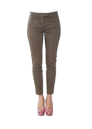 Donna Pantaloni Cotone Dondup Marrone Dp066rs986dptd608 n1gTwUUv