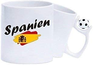 Shirtinstyle Taza de Café Taza de Café España Bandera, Land ...