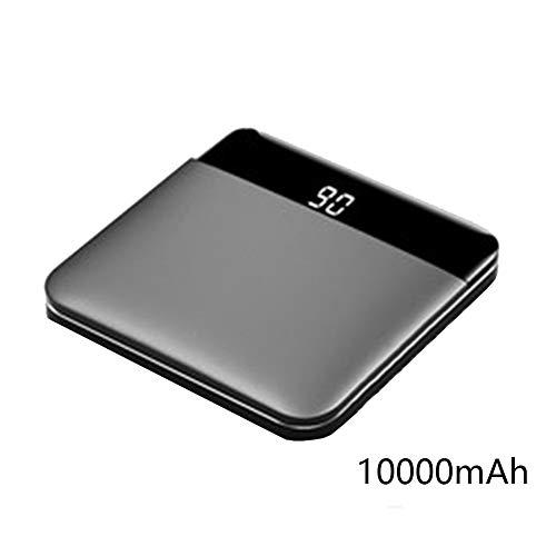 ZHRUYY Power Bank Batería Externa Cargador Portatil, 87 * 87 * 18 Mm, Adecuado para iPhone/Android / Huawei/Mijo Teléfono...