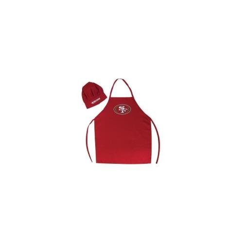 PSG San Francisco 49ers Apron and Chef Hat Set -