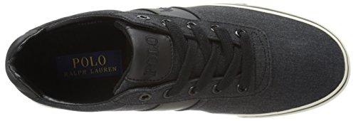 Polo Ralph Lauren Hanford Fashion Sneaker, Noir, US 7|UK 6.5|EU 40