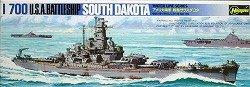 - Hasegawa 1/700 Battleship USS South Dakota BB-57