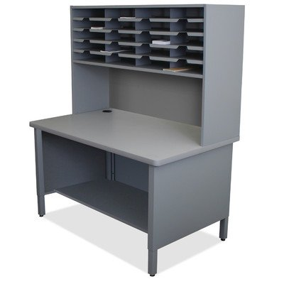 Mailroom 20 Slot Organizer Finish: Slate Gray