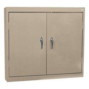 Sandusky Lee WA22361230-04 Clear View Wall Cabinet, 36''W x 12''D x 30''H, Tropic Sand