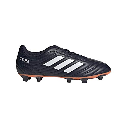 adidas Copa 19.4 Firm Ground Soccer Shoe Legend Ink/White/hi-res Coral 9 M US