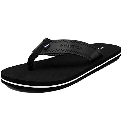 Nautica Men's Flip Flops Light Comfort Beach Sandal, for sale  Delivered anywhere in USA