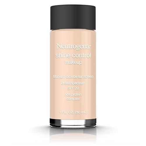 Beige 1 Ounce Makeup - Neutrogena Shine Control Liquid Makeup Broad Spectrum Spf 20, Neutral Beige 60, 1 Oz.