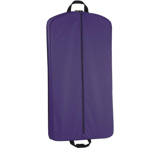One Size Garment Size Garment Bag One WallyBags 40 40 Black Purple Black WallyBags Purple Bag Inch WallyBags Inch 57wxFAq
