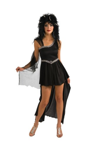 [Rubie's Costume Medusa Dress With Headpiece, Black, Standard] (Medusa Headpiece Halloween Costume)
