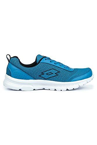 Lotto Men Splash Blue/Black Shoes 8