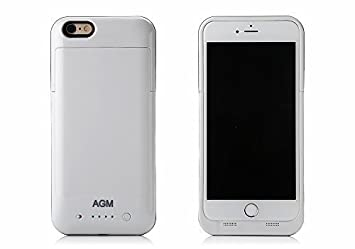 AGM para iPhone 6 Plus / 6s Plus 5800mAh Funda de Batería Externa / Funda Protectora Cargador / Funda de Batería Integrada Recargable de Alta ...