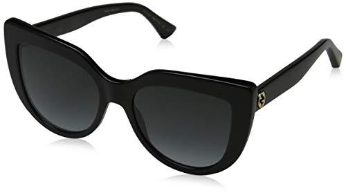 Gucci sunglasses (GG-0164-S 001) Shiny Black - Grey Gradient lenses
