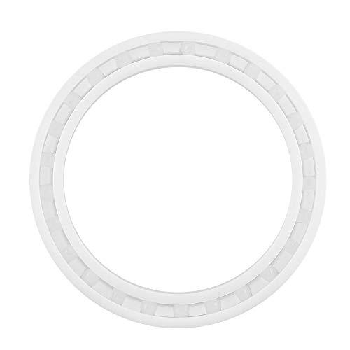 - 6808 Full Ceramic Bearings White ZrO2 Ceramic Miniature Ball Bearing 40 x 52 x 7mm