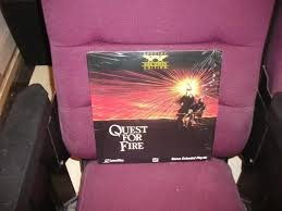 QUEST FOR FIRE------------------LASERDISC