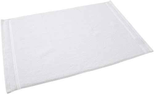 Christy Prism Tub Mat, White
