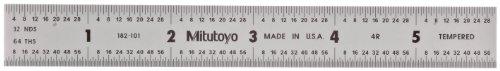 Mitutoyo 182-101 Steel Rule