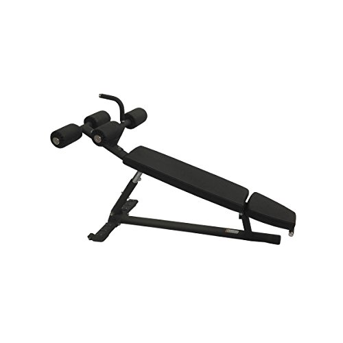 Torque Fitness Adjustable Abdominal Bench, Black by Torque Fitness
