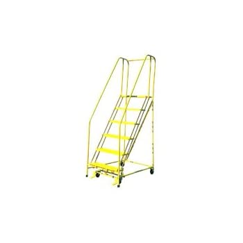 Cotterman 1005r1820 5 Step Ladder With Handrails
