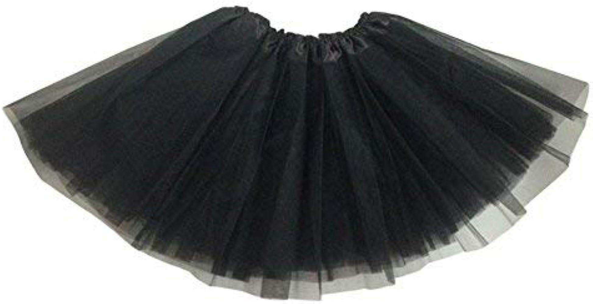 Vestido de Niñas 80s Neón Tutú Falda de Tul Hinchada Enagua Arco ...