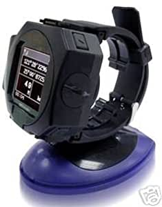 Top GPS Watch with Bluetooth GPS Receiver, Temperature, Pedometer, Compass, Data Logger, Heart Rate Monitor and PC-Interface