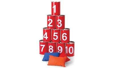 Bean Bag Target Toss Game (Meridian Point BBCT‐12‐2837 BeanBagCanTossGame)