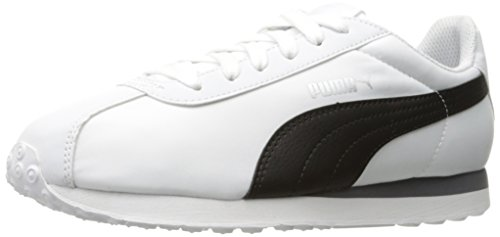PUMA Men's Turin NL Fashion Sneaker, White Black, 11 M US