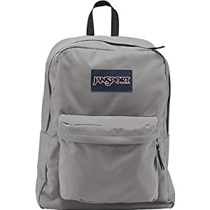 Amazon.com: JANSPORT SUPERBREAK BACKPACK SCHOOL BAG- Grey Rabbit ...