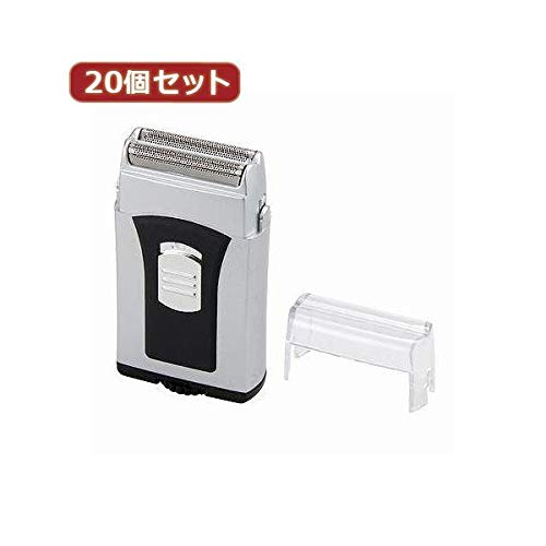 YAZAWA 20個セット 防水2枚刃コンパクトシェーバー CHM106SVX20 家電 生活家電 その他の生活家電 14067381 [並行輸入品] B07K35DWCJ