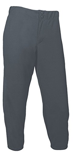 w Rise Double Knit Pant (XS, Gunmetal) (Double Knit Softball Pant)