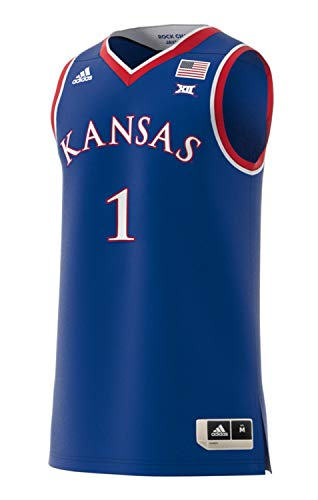 adidas Kansas Jayhawks NCAA Men's Swingman Basketball Jersey