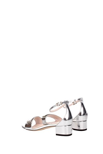 UK Sandals 5 8 Silver Women's Bally Fashion 0wqXXT