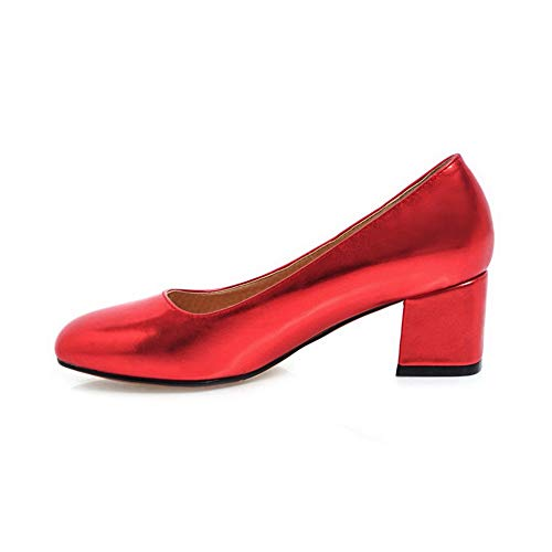 new arrivals aeddc 54843 Mms06326 1to9 Sandalias Red Con Cuña Mujer aHxdCHrqw