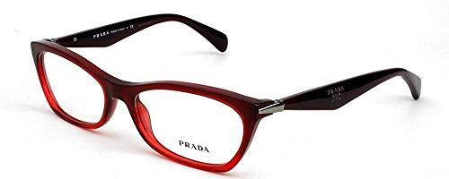 Prada Women's PR 15PV Eyeglasses 53mm (Discount Prada Eyeglasses)