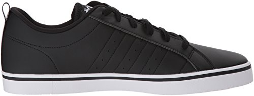 Adidas Performance Mens Tempo Vs-m Fashion Sneaker Kern Zwart, Ftwr Wit, Scarlet