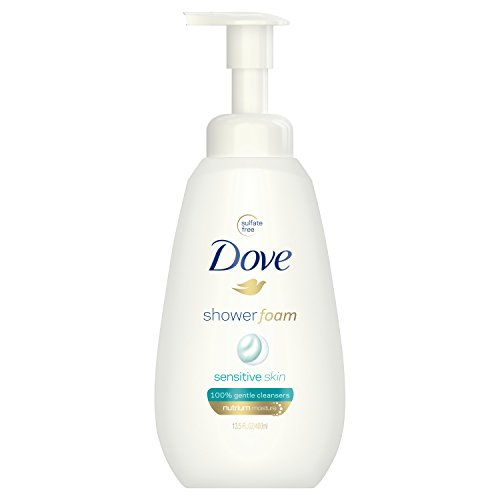 Dove Shower Foam, Sensitive Skin, 13.5 oz ()