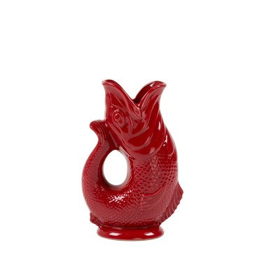 Gluggle Pitcher Color: Cranberry
