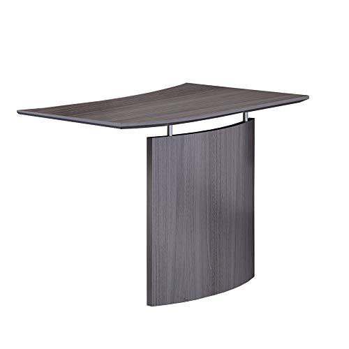 Safco Products MNBDGLLGS Medina Desk, Gray Steel Laminate