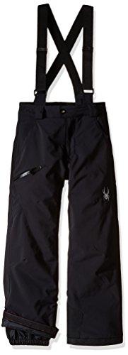 Spyder Boys Propulsion Pants, Size 8, Black by Spyder (Image #1)