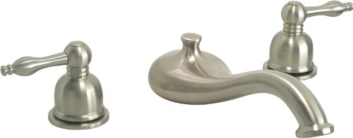 Premier 120136 Wellington Roman Tub Faucet, Brushed Nickel - Deck Mount Roman Tub Faucet