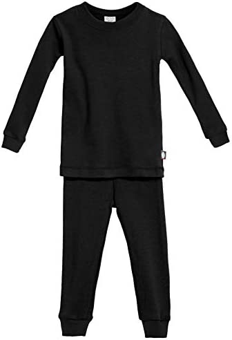 Made in USA Organic Cotton City Threads Boys and Girls Short Sleeve and Short Snug PJs