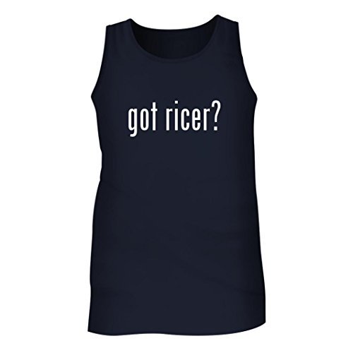 Tracy Gifts Got ricer? - Men's Adult Tank Top, Navy, (Cuisipro Stainless Steel Potato Ricer)