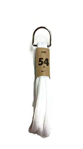 Nike Unisex Replacement Shoe Laces (54, Athletic White) ()