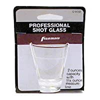 SHOT GLASS 2OZ CARDED, EA, 04-0353 FRANMARA, INC HERRAMIENTAS DE BARRA